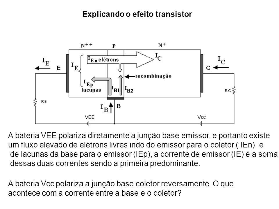 Explicando o efeito transistor
