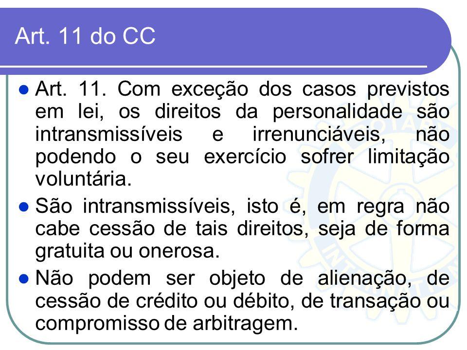 Art. 11 do CC