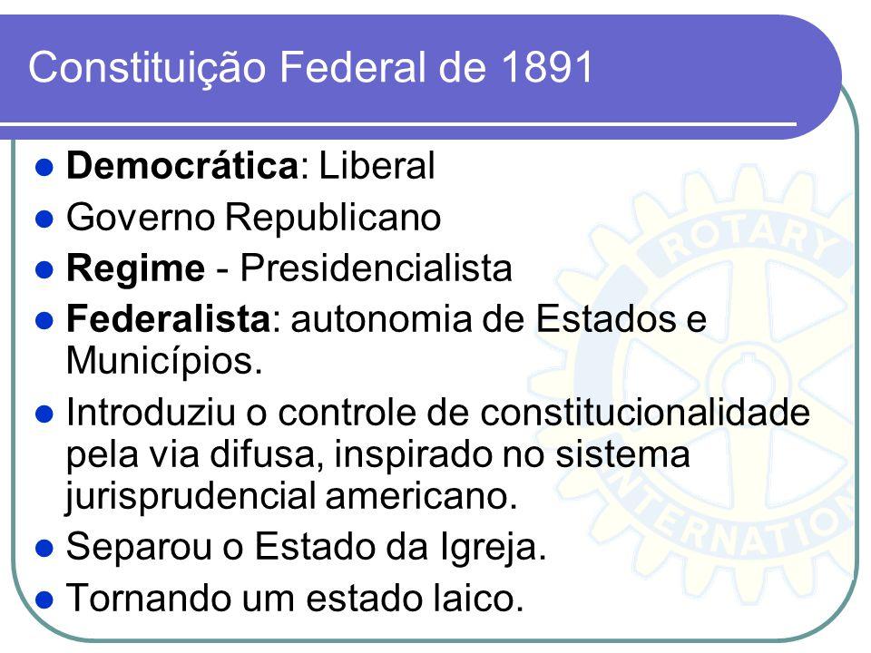 Constituição Federal de 1891