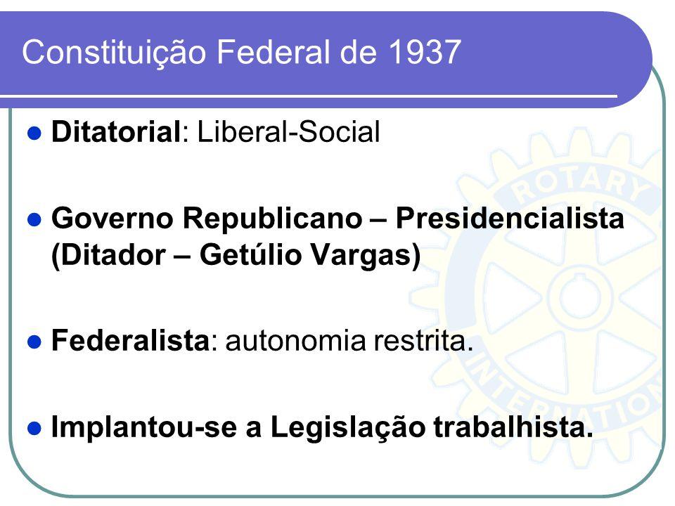 Constituição Federal de 1937