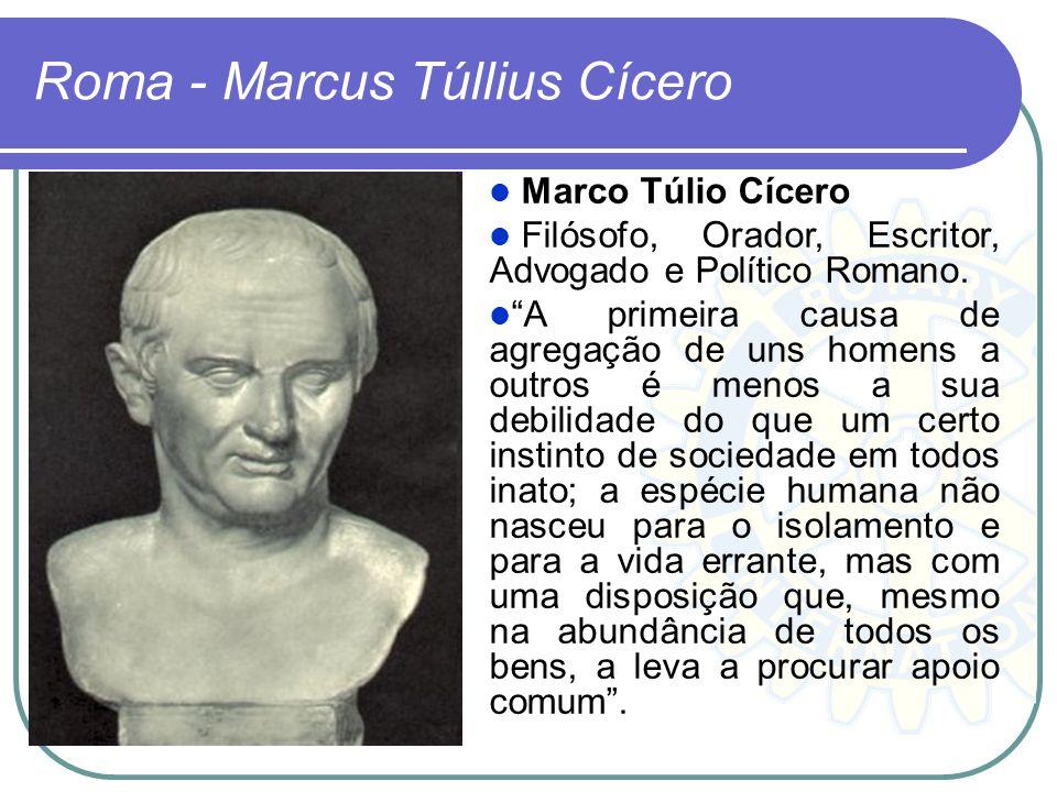 Roma - Marcus Túllius Cícero