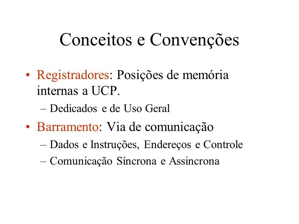 Conceitos e Convenções