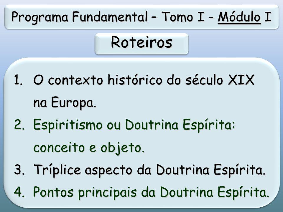 Programa Fundamental – Tomo I - Módulo I