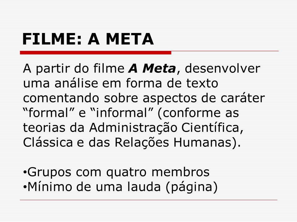 FILME: A META