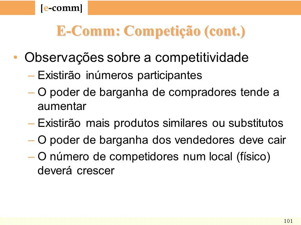 E-Comm: Competição (cont.)