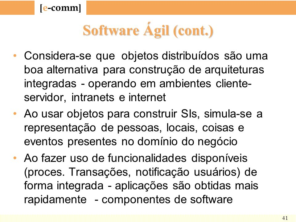 Software Ágil (cont.)