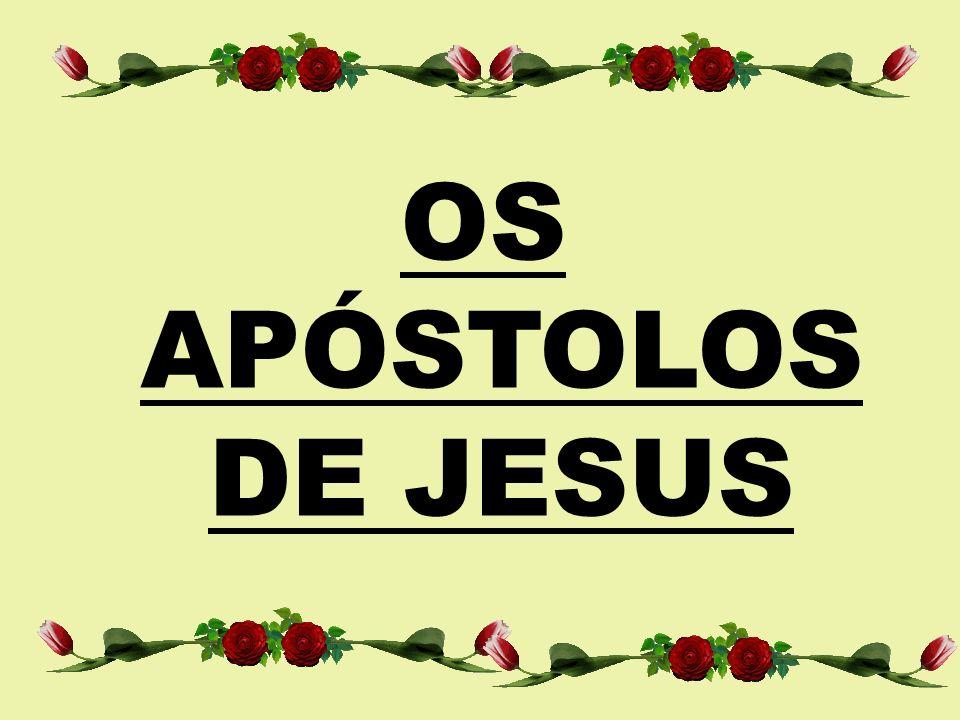 OS APÓSTOLOS DE JESUS