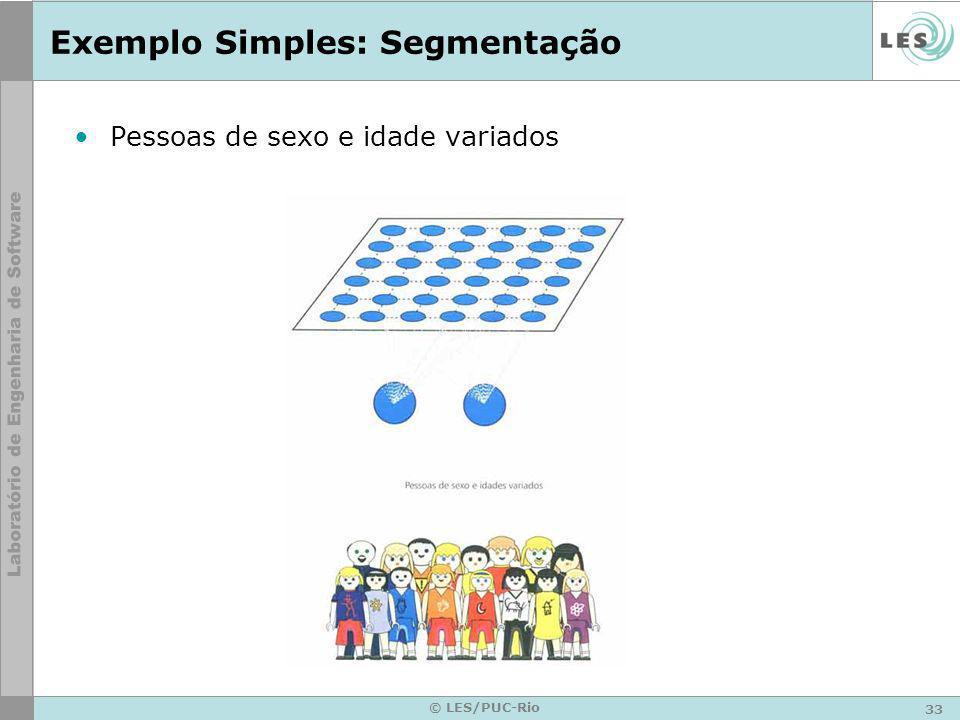 Exemplo Simples: Segmentação