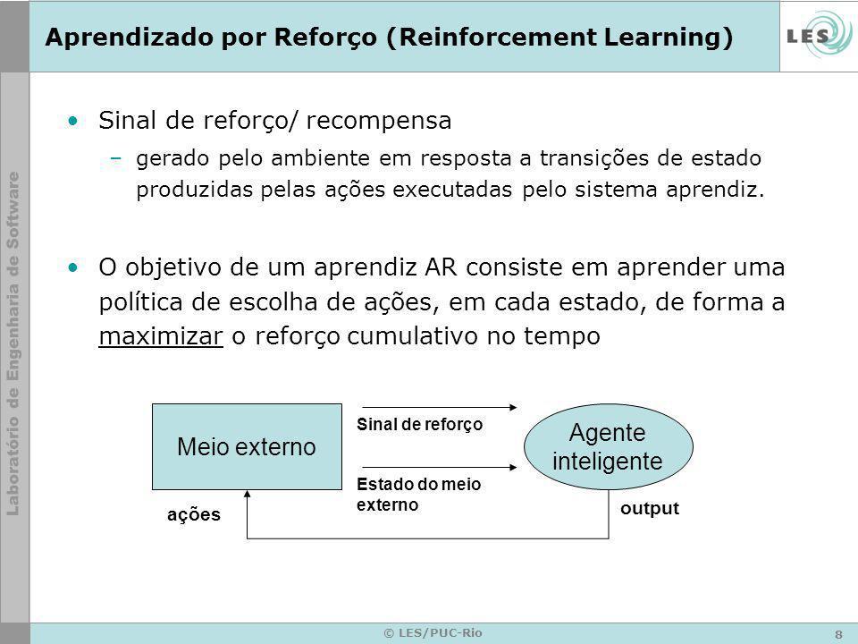 Aprendizado por Reforço (Reinforcement Learning)