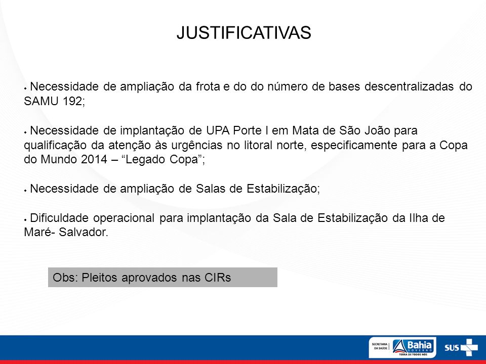 JUSTIFICATIVAS JUSTIFICATIVAS