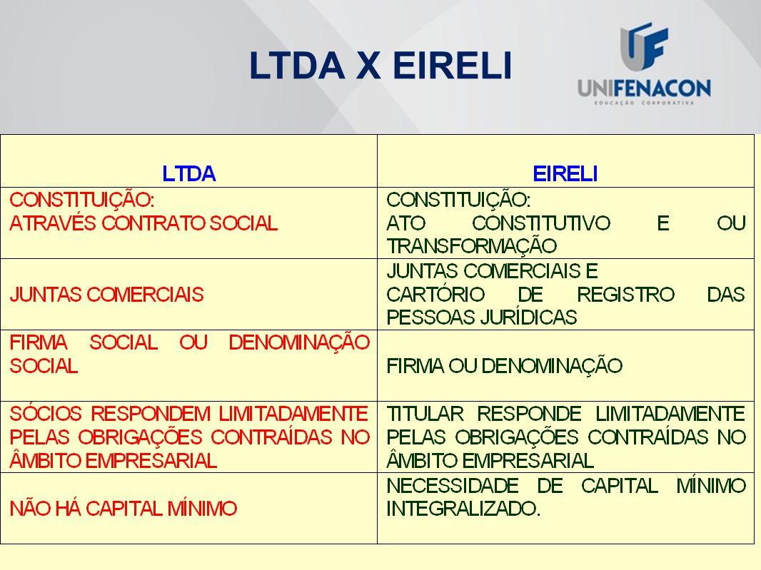 LTDA X EIRELI
