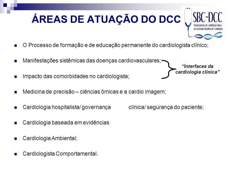 Interfaces da cardiologia clínica