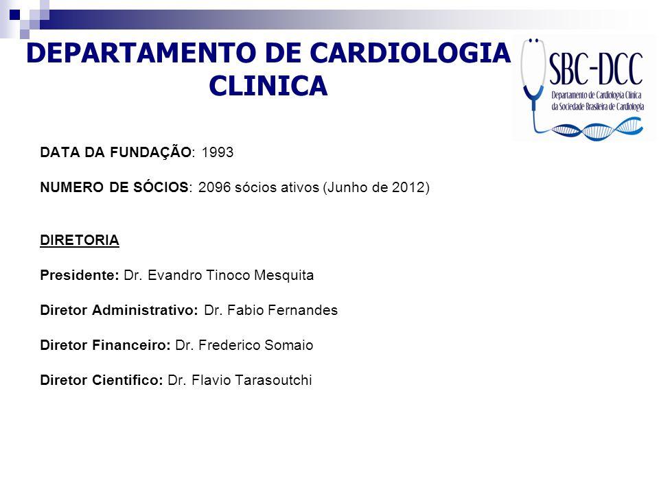 DEPARTAMENTO DE CARDIOLOGIA CLINICA