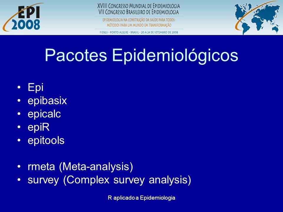 Pacotes Epidemiológicos