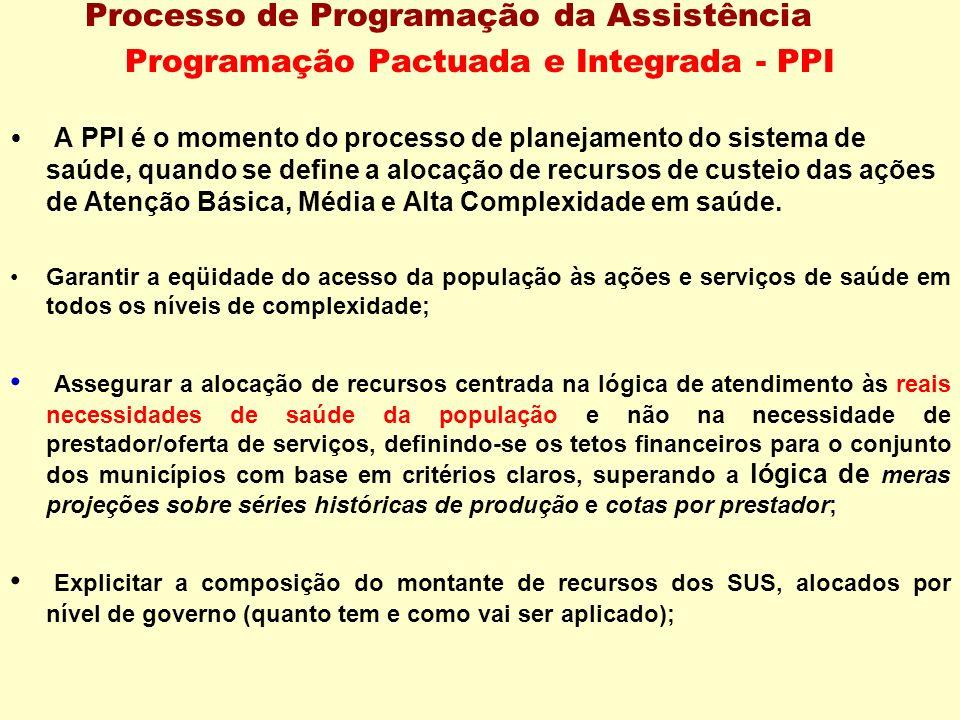 Programação Pactuada e Integrada - PPI