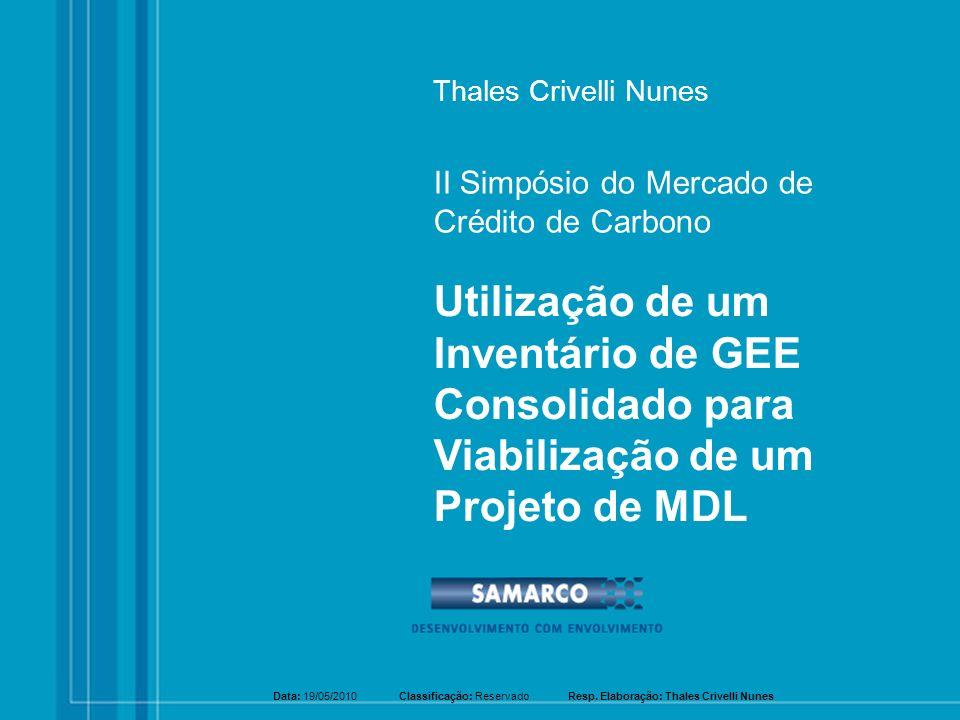 Thales Crivelli Nunes II Simpósio do Mercado de Crédito de Carbono.