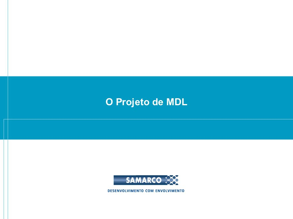 O Projeto de MDL 20