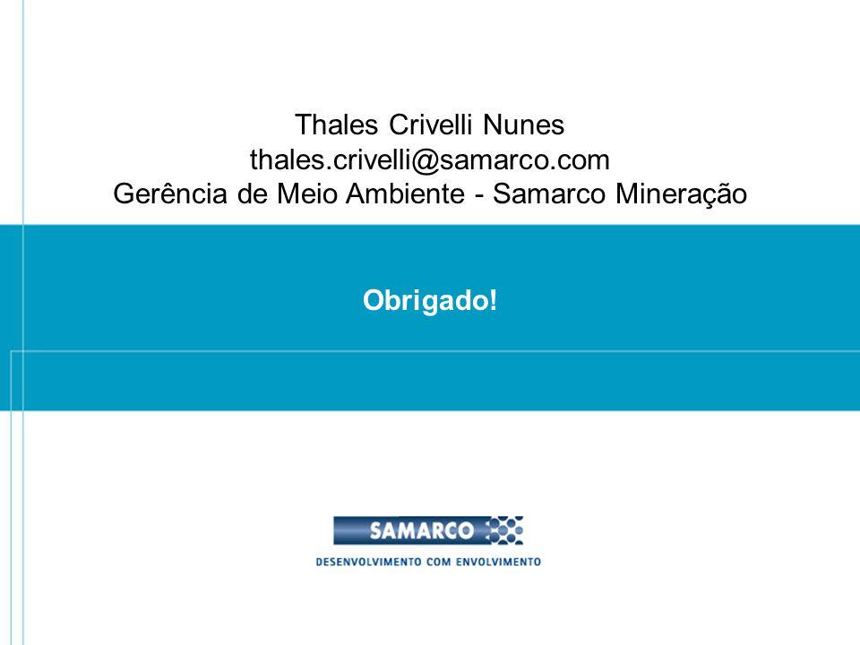 Gerência de Meio Ambiente - Samarco Mineração