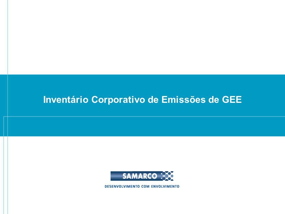 Inventário Corporativo de Emissões de GEE
