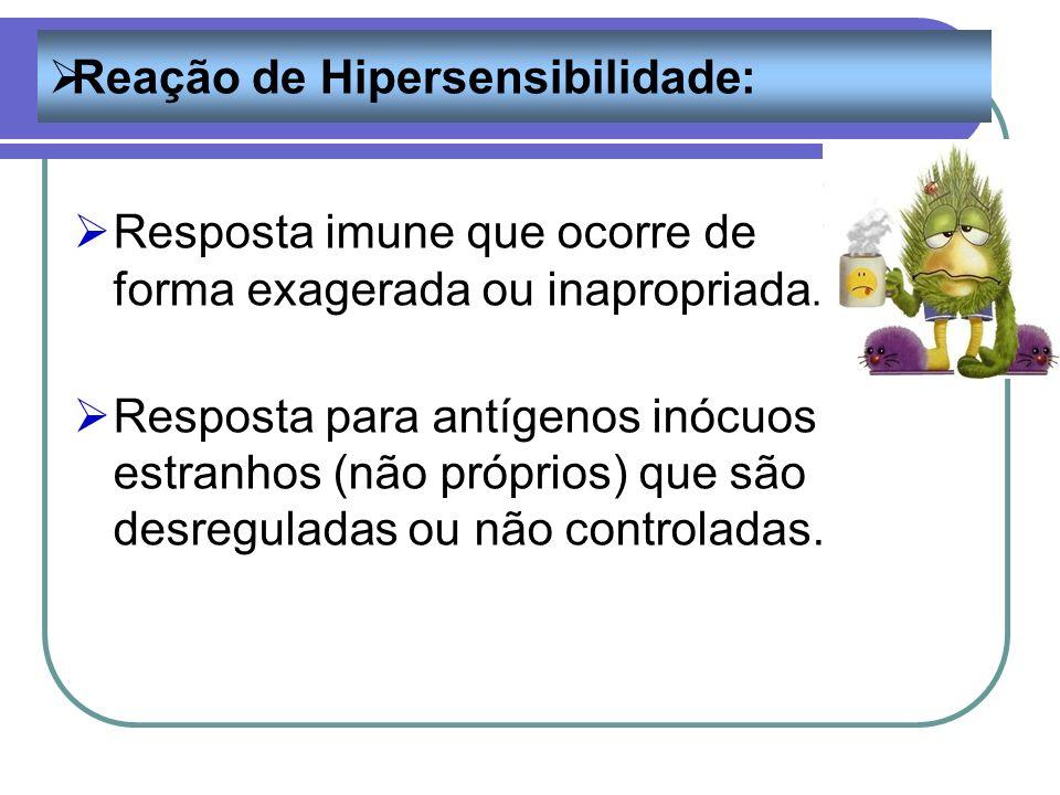 Reação de Hipersensibilidade: