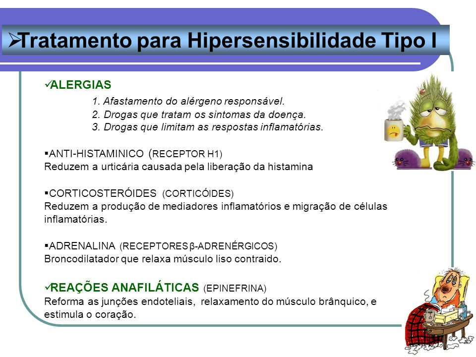 Tratamento para Hipersensibilidade Tipo I