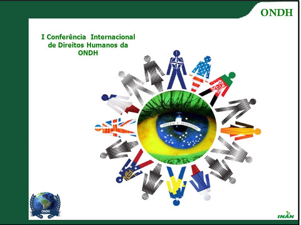 I Conferência Internacional de Direitos Humanos da ONDH