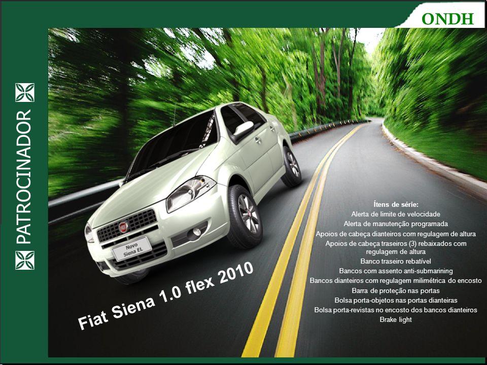 Fiat Siena 1.0 flex 2010 Ocupando os espaços  PATROCINADOR  ONDH