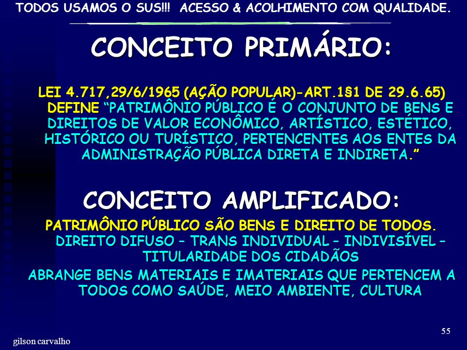 CONCEITO AMPLIFICADO: