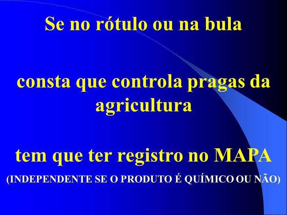 consta que controla pragas da agricultura