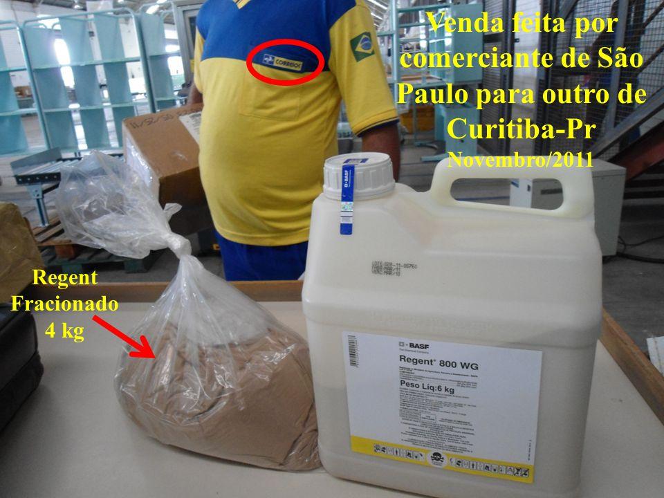 Venda feita por comerciante de São Paulo para outro de Curitiba-Pr