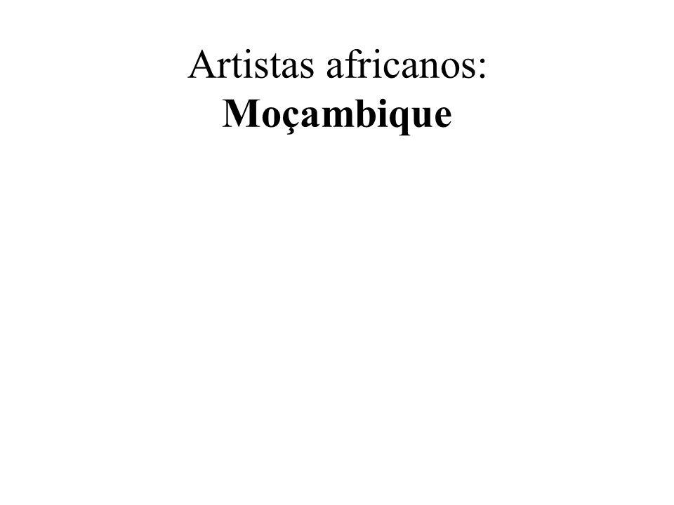 Artistas africanos: Moçambique