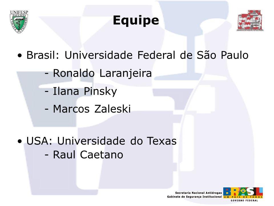 Equipe Brasil: Universidade Federal de São Paulo - Ronaldo Laranjeira
