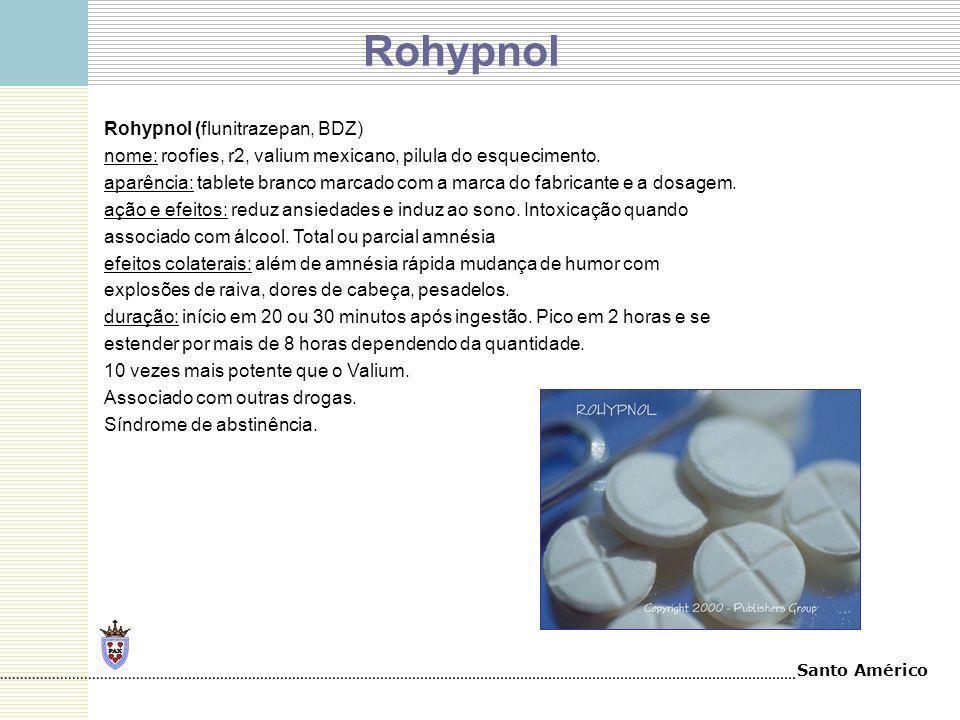 Rohypnol Rohypnol (flunitrazepan, BDZ)