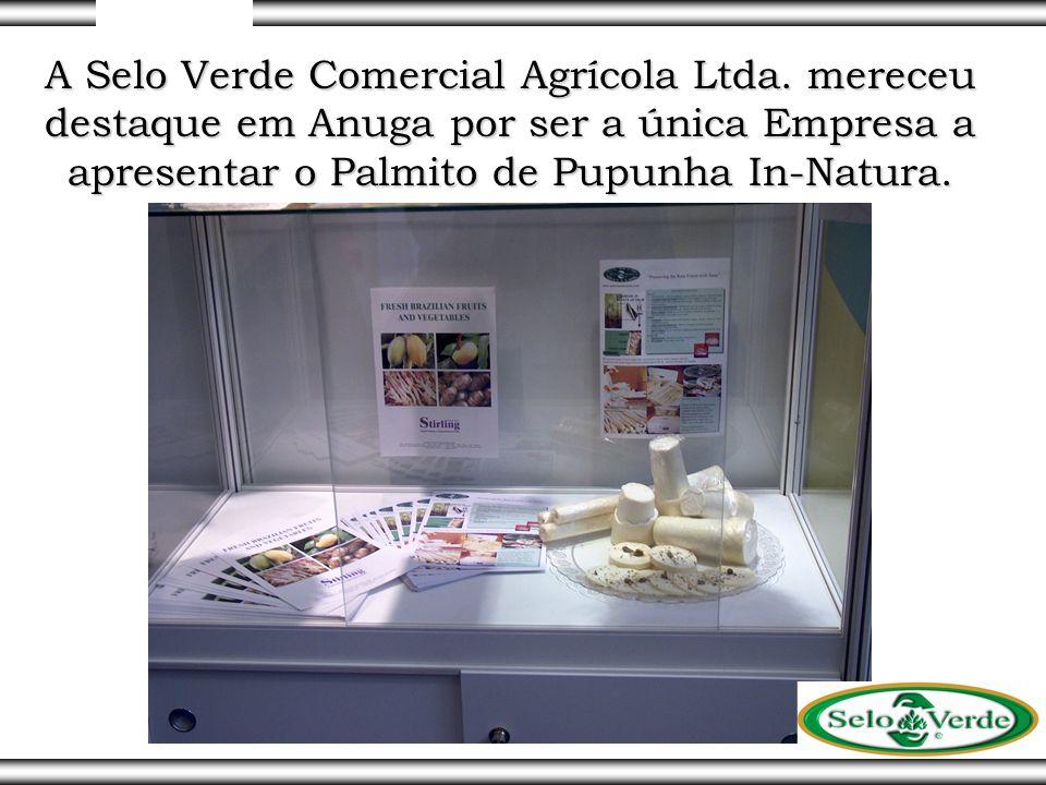 A Selo Verde Comercial Agrícola Ltda