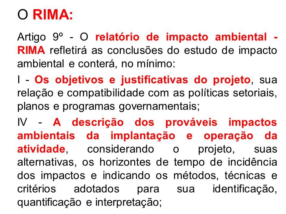 O RIMA:
