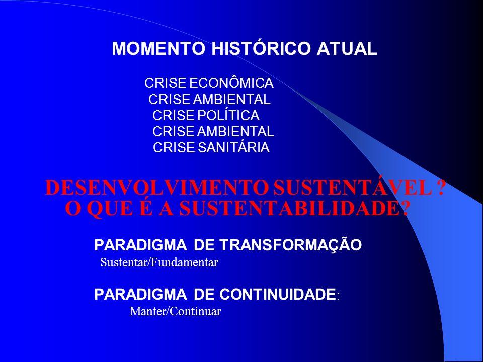 MOMENTO HISTÓRICO ATUAL