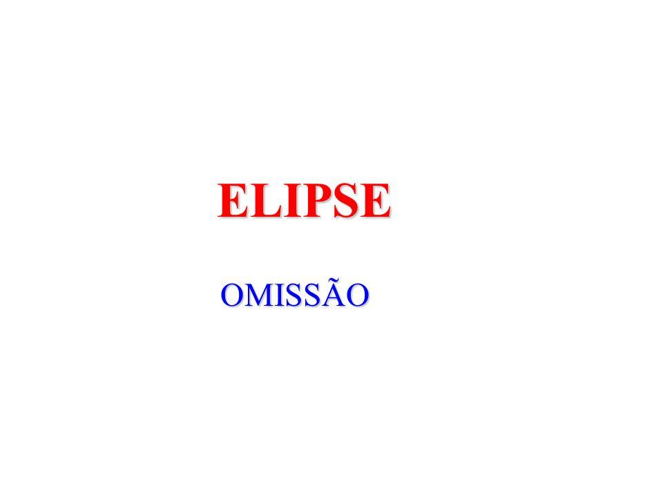 ELIPSE OMISSÃO