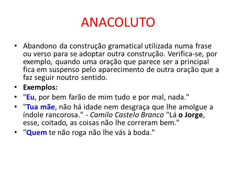 ANACOLUTO