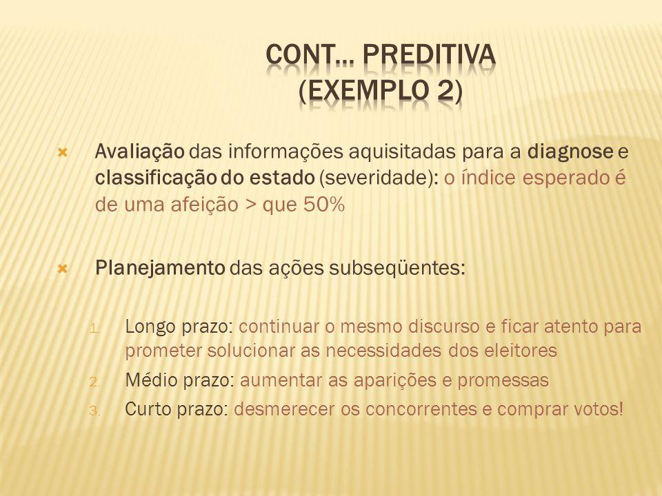 cont... PREDITIVA (exemplo 2)