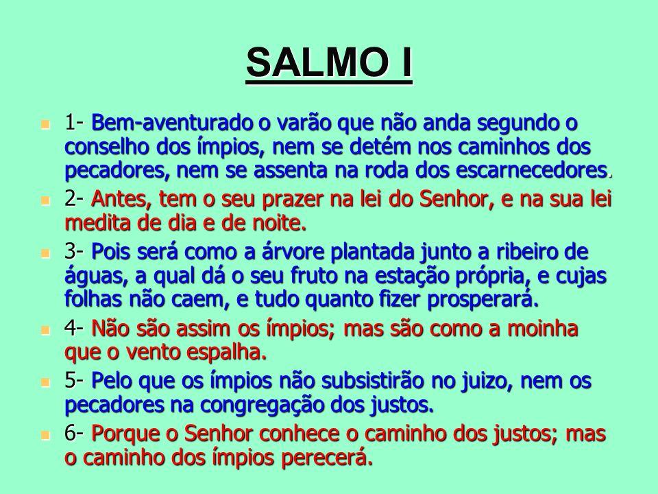 SALMO I