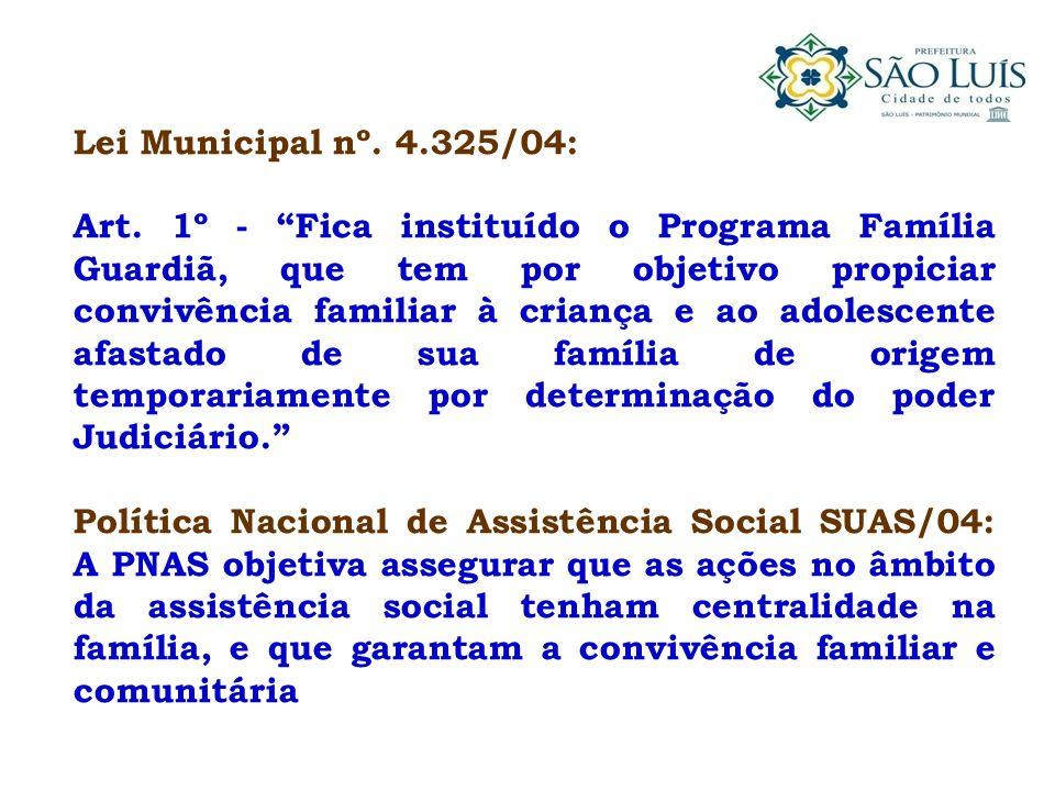 Lei Municipal nº. 4.325/04: