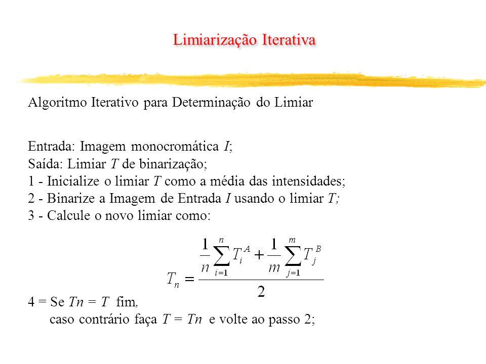 Limiarização Iterativa