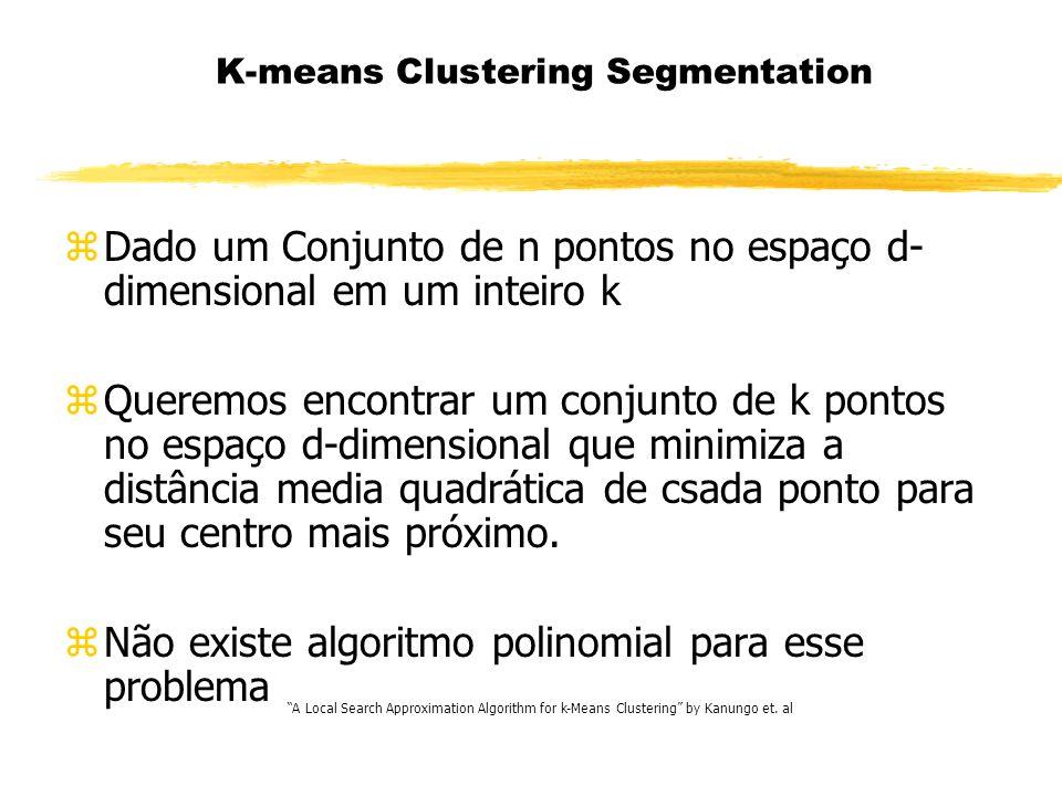 K-means Clustering Segmentation