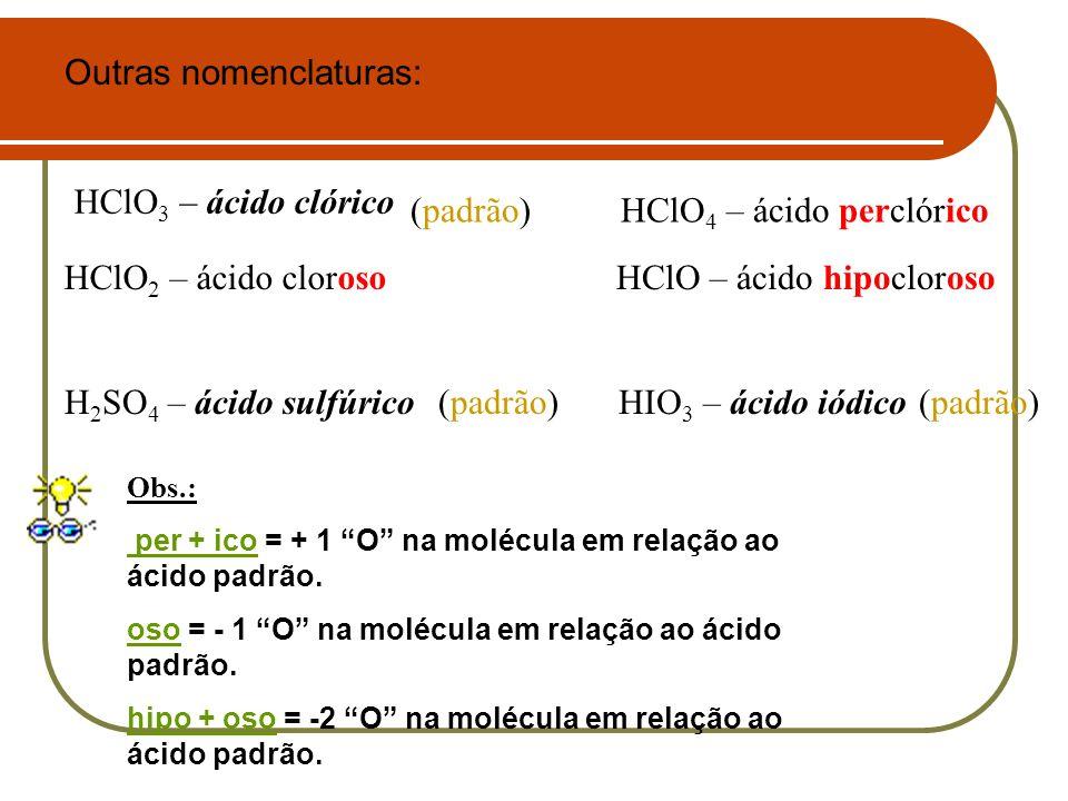 Outras nomenclaturas: