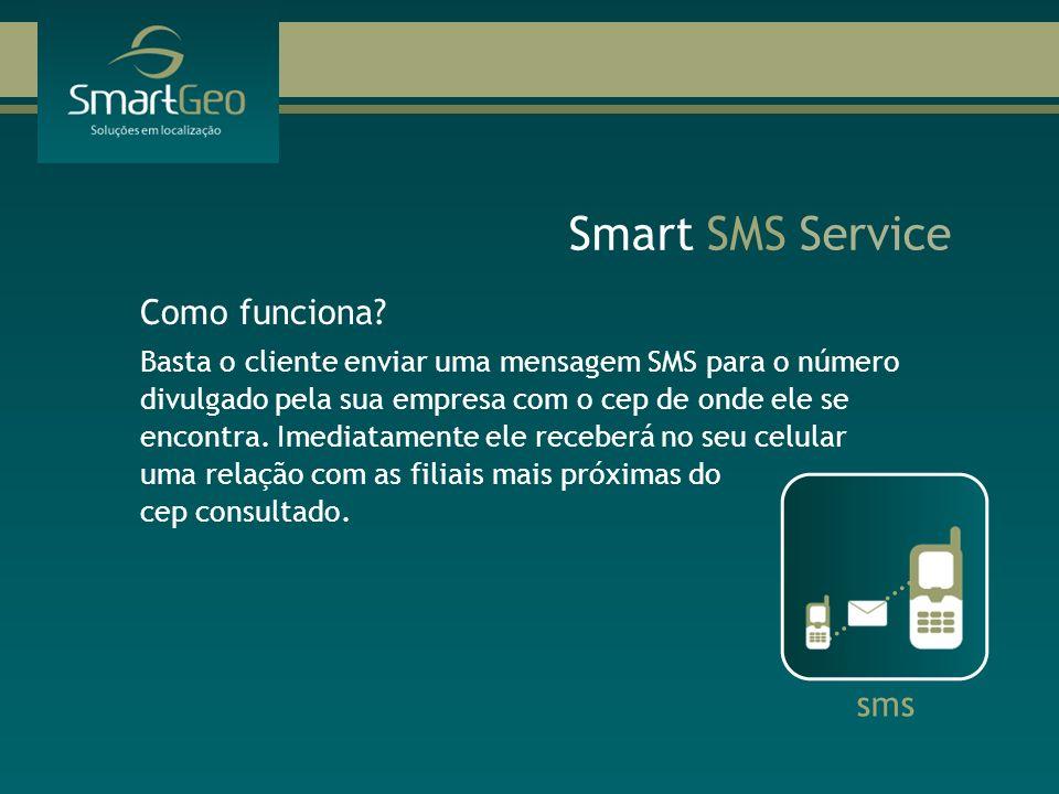 Smart SMS Service Como funciona sms