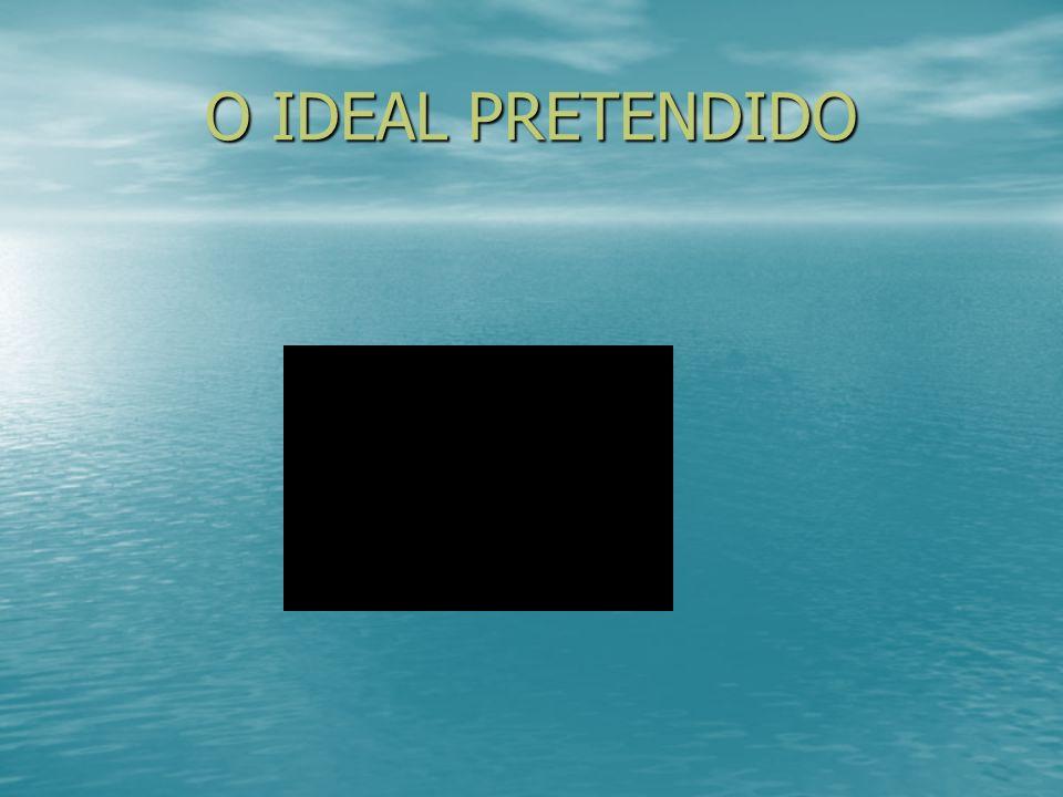 O IDEAL PRETENDIDO