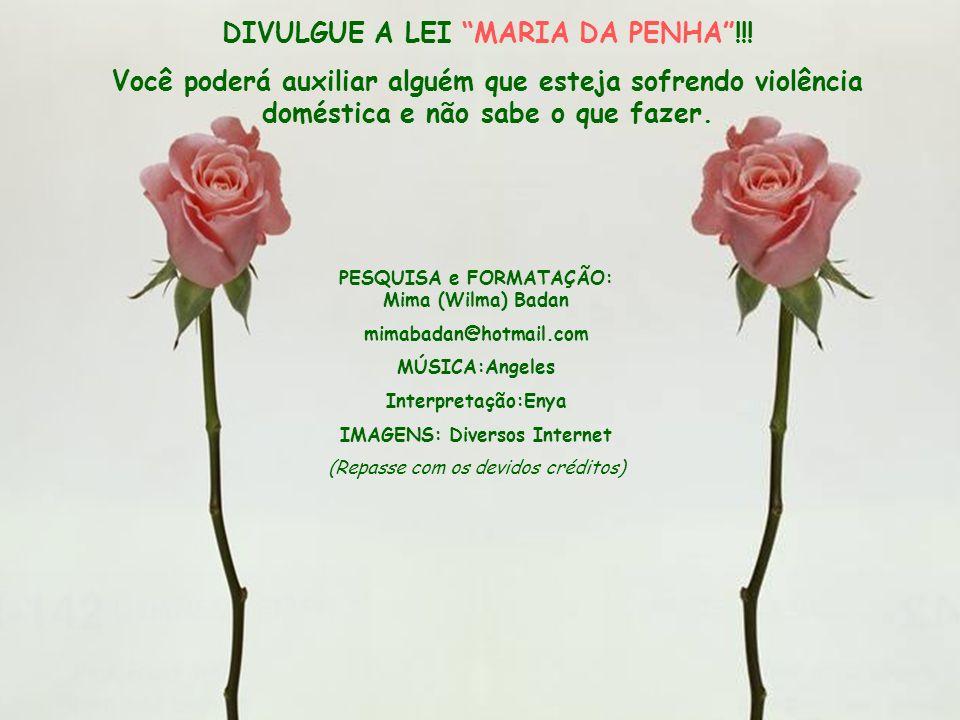 DIVULGUE A LEI MARIA DA PENHA !!!