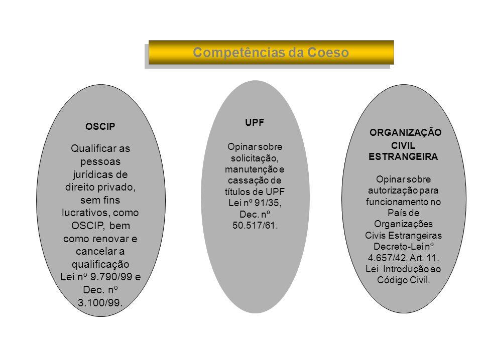 ORGANIZAÇÃO CIVIL ESTRANGEIRA