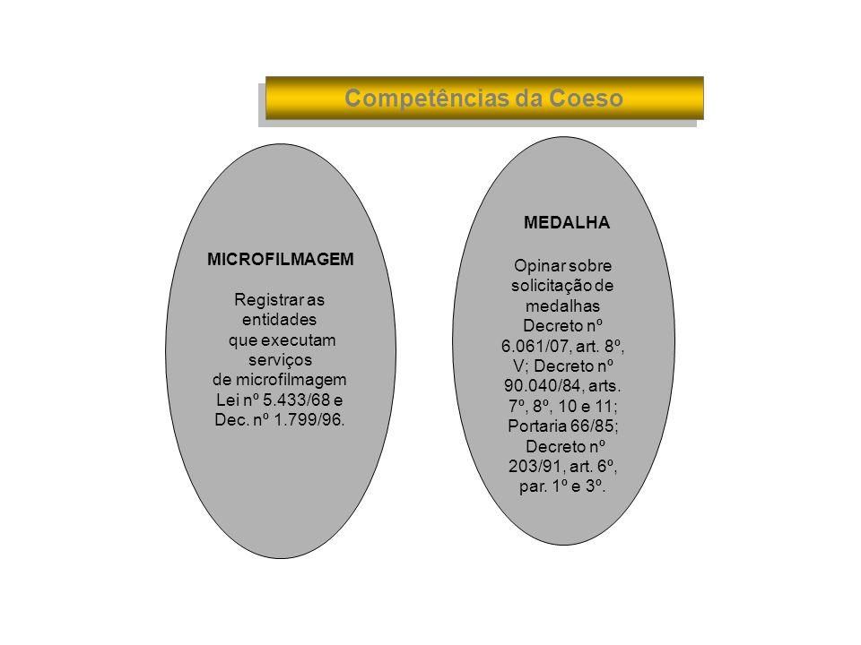 MEDALHA Competências da Coeso MICROFILMAGEM