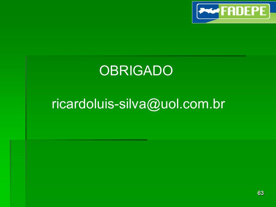 OBRIGADO ricardoluis-silva@uol.com.br